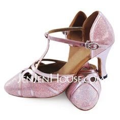 Dance Shoes - $24.99 - Leatherette Sparkling Glitter Heels Dance Shoes (053008212) http://jenjenhouse.com/Leatherette-Sparkling-Glitter-Heels-Dance-Shoes-053008212-g8212