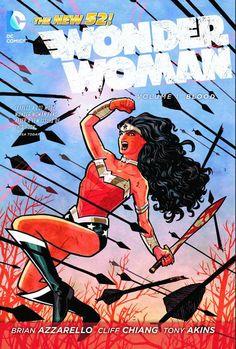 Wonder Woman, Vol 1 Blood, TPB
