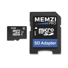 MEMZI PRO 32GB Class 10 90MB/s Micro SDHC Memory Card with SD Adapter for ZTE Grand Series Cell Phones *** Check out the image by visiting the link. (This is an affiliate link and I receive a commission for the sales)