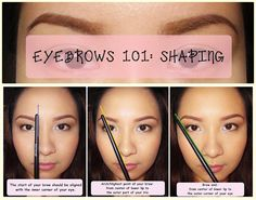 Make Me Up Before You Go Go!: Eyebrows 101: How to Shape Your Brows