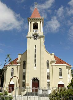 NG gemeente Parow - Die moedergemeente Parow se kerkgebou in Sarel Cilliersstraat. Church Building, Place Of Worship, African History, Africa Travel, Kirchen, South Africa, Landscape Photography, Beautiful Places, 6 September