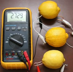 Effective Bits: Batteries from Lemons - A Homeschool Electricity Lesson