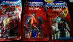 Tres blisters Masters del Universo. MOTU. in Juguetes, Figuras de acción, TV, cine y videojuegos   eBay