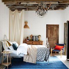 Home Interior Design .Home Interior Design French Country Bedrooms, Bedroom Country, Rustic Room, Bedroom Rustic, Rustic Decor, Farmhouse Decor, Italian Home, Trendy Bedroom, Casual Bedroom