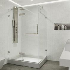 Vigo Monteray 48 13 X 79 25 Rectangle Hinged Shower Enclosure