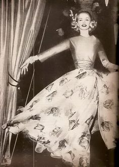 Harper's Bazaar April 1955  Paris Collections