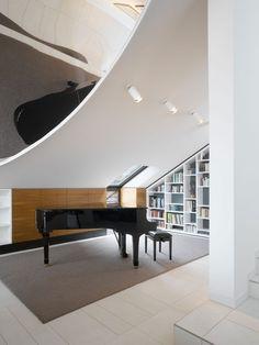 eremas studio: Трёхуровневая квартира в Штутгарте, Германия