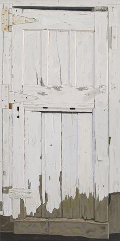 JOSEPHINE HALVORSON Yellow Clapboard, 2013 Oil on linen 17 x 21 inches via Sikkema Jenkins