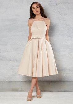 Genuine Gentility Dress in Buttercream