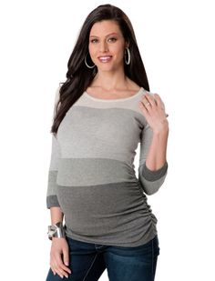 Cuddle up in cozy sweaters for fall | BabyCenter Blog #maternity