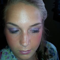 Prom make up I did