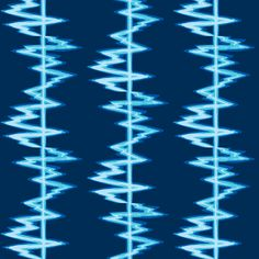 Sound Waves 2 fabric by eliennis on Spoonflower - custom fabric