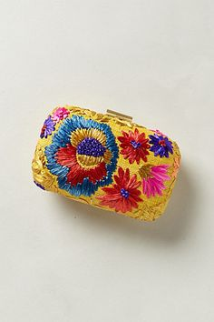 Blossomed Straw Clutch; current price is $169!! why? I love #anthropologie but their prices are out of control