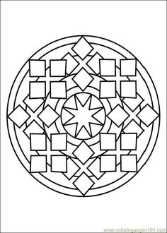 Free Printable Mandala Coloring Pages | free printable coloring page Mandalas 10 (Cartoons > Mandalas)