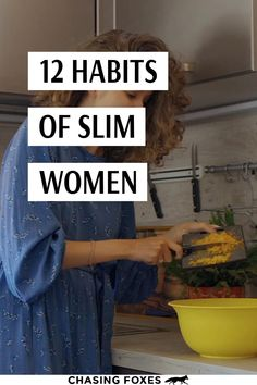I was struggling to lose weight and wanted to know how to keep weight off, so these habits of skinny women who always smash their weightloss goals helped! #ChasingFoxes #LoseWeight #WeightlossGoals #WeightlossTips
