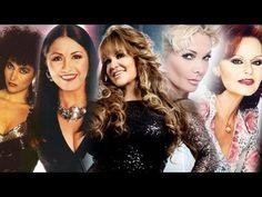 Ana Gabriel, Rocío Dúrcal, Amanda Miguel, Marisela Y Jenni Rivera EXITOS mix sus mejores canciones - YouTube