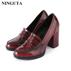 Quality high heel pumps