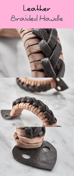 Leather-based Braided Deal with - Decoration Creative Wall Decor, Creative Walls, Decorating Your Home, Decorating Ideas, Decor Ideas, Braided Leather, Kitchen Items, Spice Things Up, Farmhouse Decor