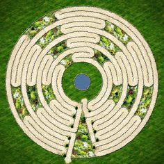 Garden Prayer Labyrinth....