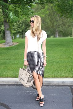 perfect striped skirt...