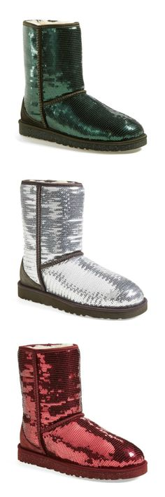 Sequin Uggs for the holidays!