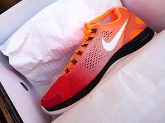 #Nikeid Orange shoes