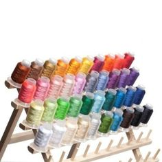 40 Spools Polyester Embroidery Machine Thread, Free Shipping, New