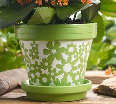 Floral Flowerpot