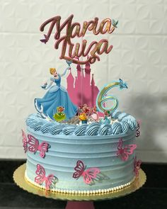 65 ideas and step by step for a magic party - Birthday FM : Home of Birtday Inspirations, Wishes, DIY, Music & Ideas Cinderella Birthday, Cinderella Cakes, Luxury Cake, Owl Cakes, Magic Party, Fake Cake, Cake Shapes, Cake Delivery, Square Cakes