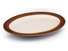Paula Deen Southern Gathering 10x14-in. Serving Platter: Chestnut