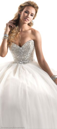 If I got a princess gown that would be it!