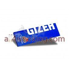 Cod produs: Foite Gizeh(albastru) Disponibilitate: În Stoc Preţ: 0,80RON  Foite Gizeh (albastru).Foitele sunt albe.  Cantitate 50 foite ORIGINAL(21 g/m).  Natural gum.