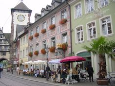 Freiburg - my husband's home town. One of my favorite places to visit. <3