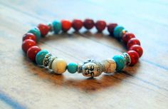 20 Off VALENTINE SALE Ethnic Inspired Stretch by Cheshujewelry, $20.00