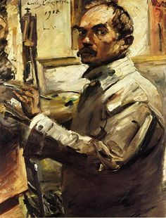 Lovis Corinth - Self Portrait