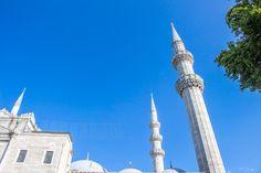 mosquée Süleymaniye d'Istanbul Cn Tower, Building, Travel, Viajes, Buildings, Destinations, Traveling, Trips, Construction