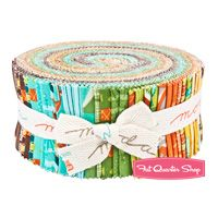 S'more Love Jelly Roll Eric & Julie Comstock for Moda Fabrics