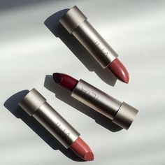 Ilia Beauty 💋 Dracula-themed lipsticks in sleek recycled aluminum cases. #nontoxicbeauty #switchtosafer #safeandchic @iliabeauty