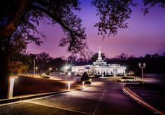 Scott Jarvie is on a mission to capture and compile pictures of every LDS temple in the United States. The Baton Rouge Louisiana Temple is pictured here. (Scott Jarvie)