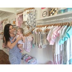 """""""I owed the gorgeous so here is my mini offsider and I hanging in our usual post at the shop with just some of our…"""" Toddler Boutique, Baby Boutique, Boutique Shop, Kids Store, Baby Store, Business Baby, People Shopping, Little People, Visual Merchandising"""
