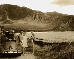 Gallery - Vintage VWs and the Surf Scene Bugs, Vintage Surf, Retro Surf, Ocean Sounds, Beach Images, Gypsy Life, Monument Valley, Surfing, Scene