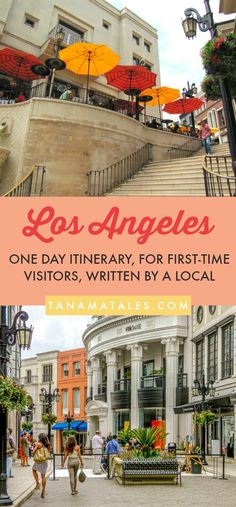Things to see, do and eat in one day in Los Angeles, – Travel and Vacation Tips / Ideas – One day in Los Angeles? Have no fear my friend! I have put together an ideal itinerary for first-time visitors with limited time. I cover the hottest attr Los Angeles Trip, Los Angeles Travel Guide, Disneyland Los Angeles, Weekend In Los Angeles, Los Angeles Vacation, Hollywood California, California Travel, California Attractions, Los Angeles