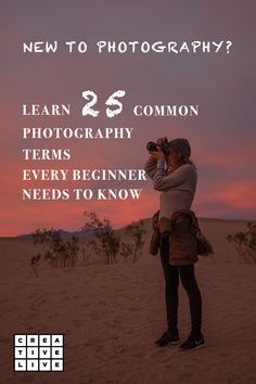 A glossary of common photography terms that will help any beginner photographer get a good understanding of the craft in no time at all. Photography Terms, Photography Cheat Sheets, Photography For Beginners, Depth Of Field, Need To Know, Hobbies, Knowledge, Learning, Instagram