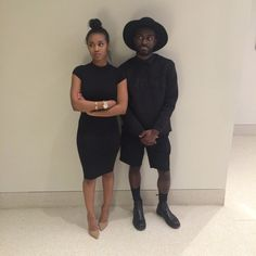 Black Couple in Love — jordieham:   A couple that throw shade together...