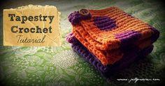 Tapestry Crochet Washer Tutorial!!
