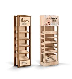 Wooden Display Stand, Shop Display Stands, Pop Display, Store Displays, Display Design, Display Shelves, Cosmetics Display Stand, Cosmetic Display, Pop Design