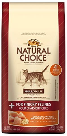 NATURAL CHOICE Adult Cat Chicken and Whole Brown Rice Formula  FOR FINICKY FELINES  3 lbs 136 kg >>> For more information, visit image link.Note:It is affiliate link to Amazon.