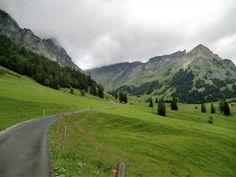 Path near Engelberg, Switzerland