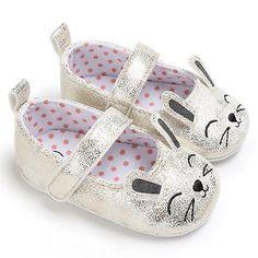 Summer Autumn Baby Girl Cartoon Soft Sole Crib Shoes Cute Black Gold Silver Anti Slip Prewalker Sneaker Shoes Boy Accessories #Affiliate