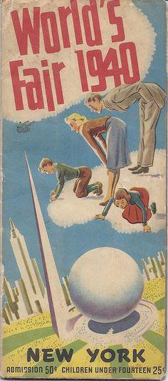 1940 New York World's Fair Brochure by RazorBoy2019, via Flickr